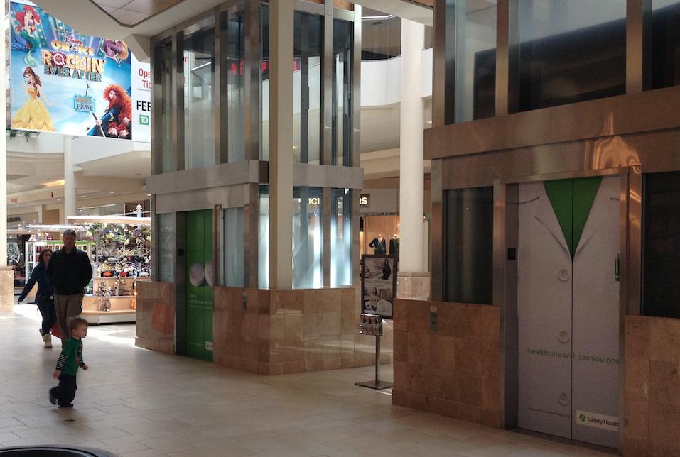 Lahey North Shore Mall Peabody Elevator Norbella